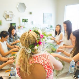 Flower Shop West Kelowna | Passionate Blooms Floral Design | Flower Workshop