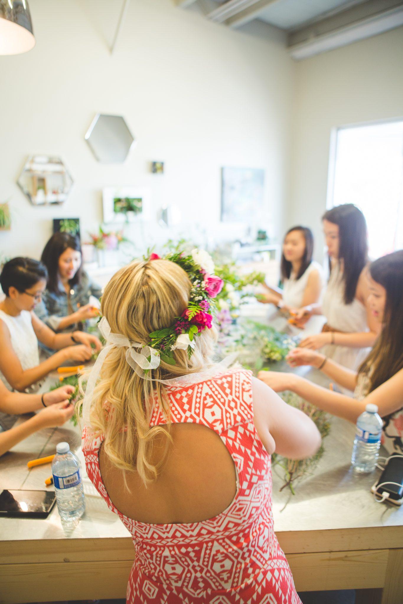 Flower Shop West Kelowna | Passionate Blooms Floral Design | Flower Workshop