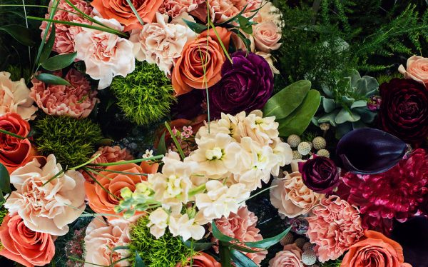 Colourful Display - Kelowna Flower Delivery Shop | Flower Arrangements & Bouquets - Passionate Blooms