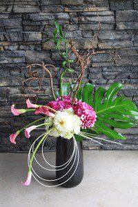 funky artist flower arrangement - Kelowna Flower Delivery Shop | Flower Arrangements & Bouquets - Passionate Blooms