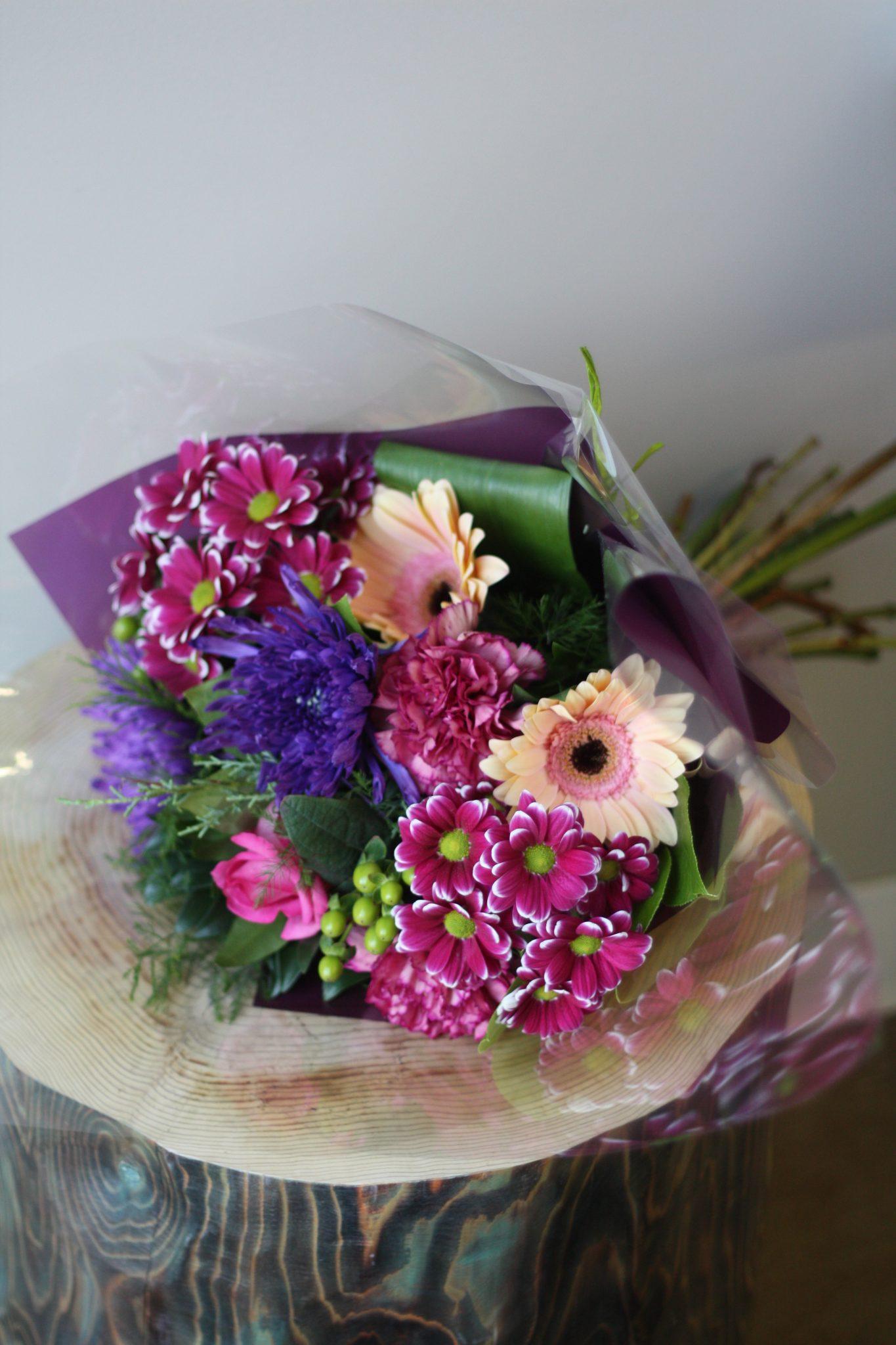 Flower Shop West Kelowna | Passionate Blooms Floral Design | custom hand-tied bouquet