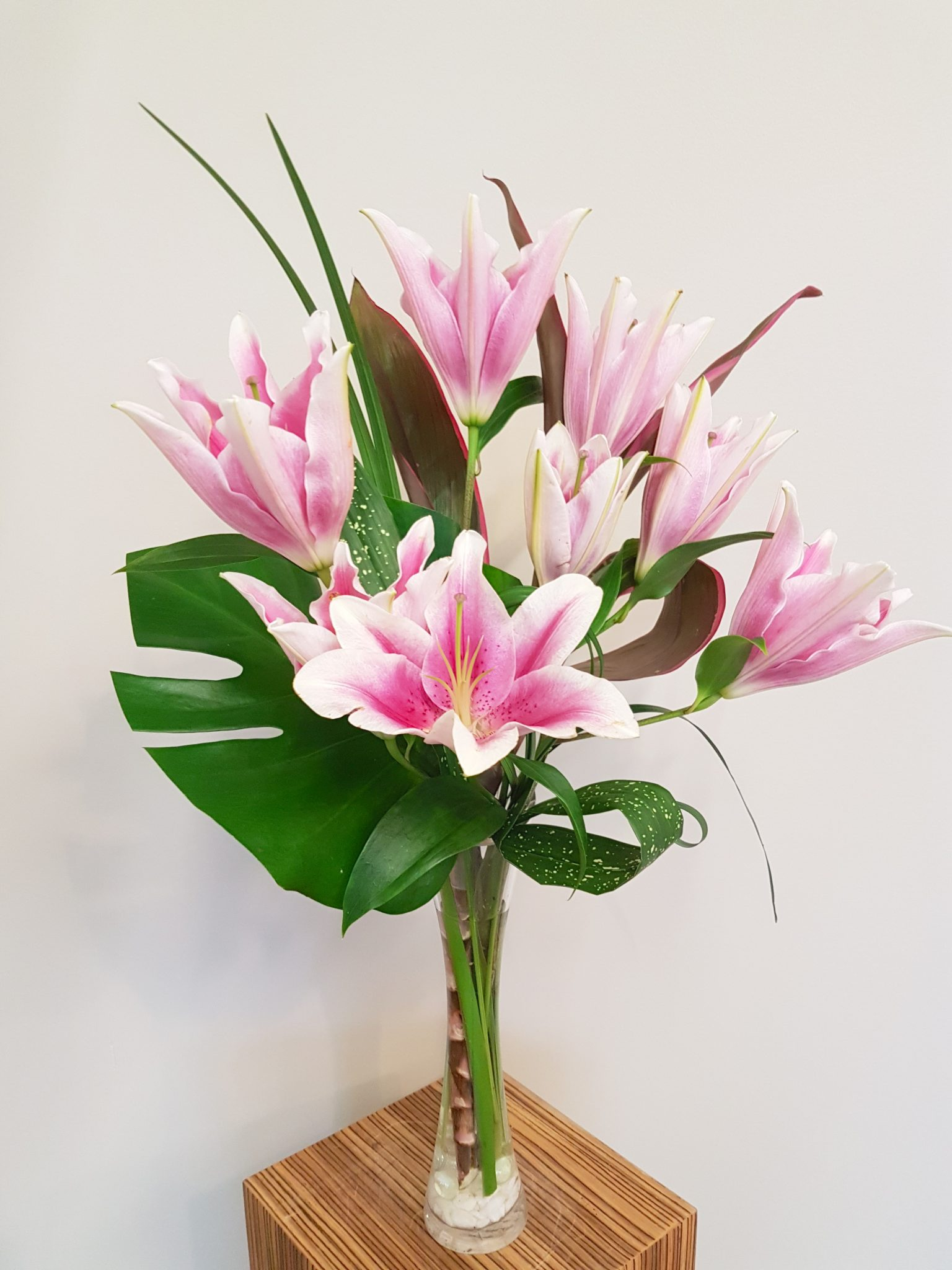 Order Flowers Online Modern Lily Passionate Blooms