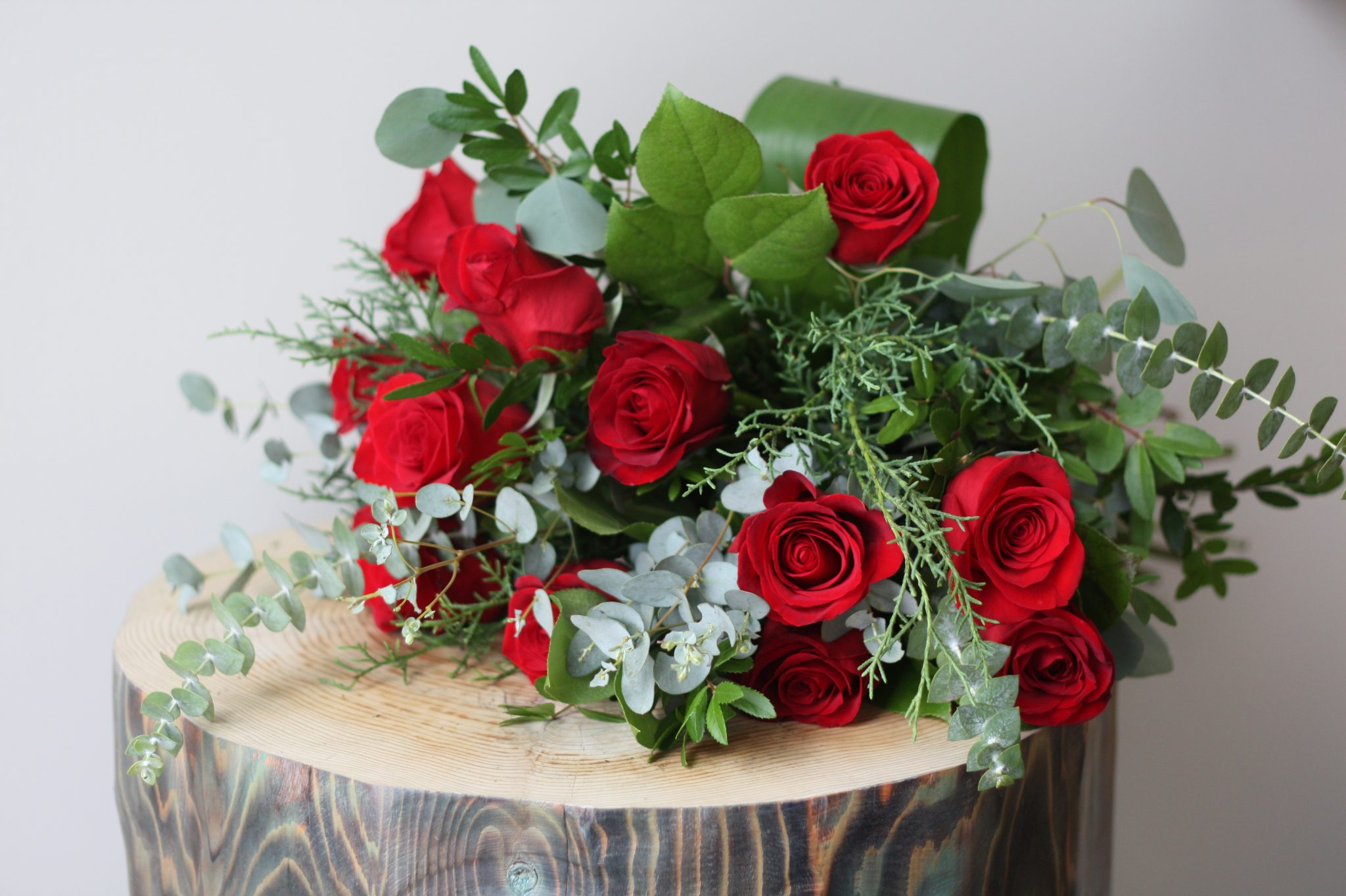 Flower Shop West Kelowna | Passionate Blooms Floral Design | hand-tied roses bouquet