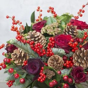 Flower Shop West Kelowna | Passionate Blooms Floral Design | christmas bouquet