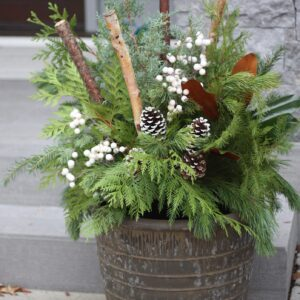Flower Shop West Kelowna | Passionate Blooms Floral Design | outdoor urn