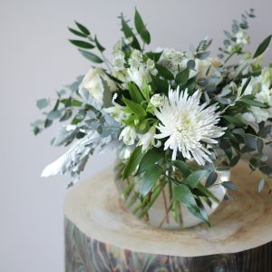 Flower Shop West Kelowna | Passionate Blooms Floral Design | white serenity