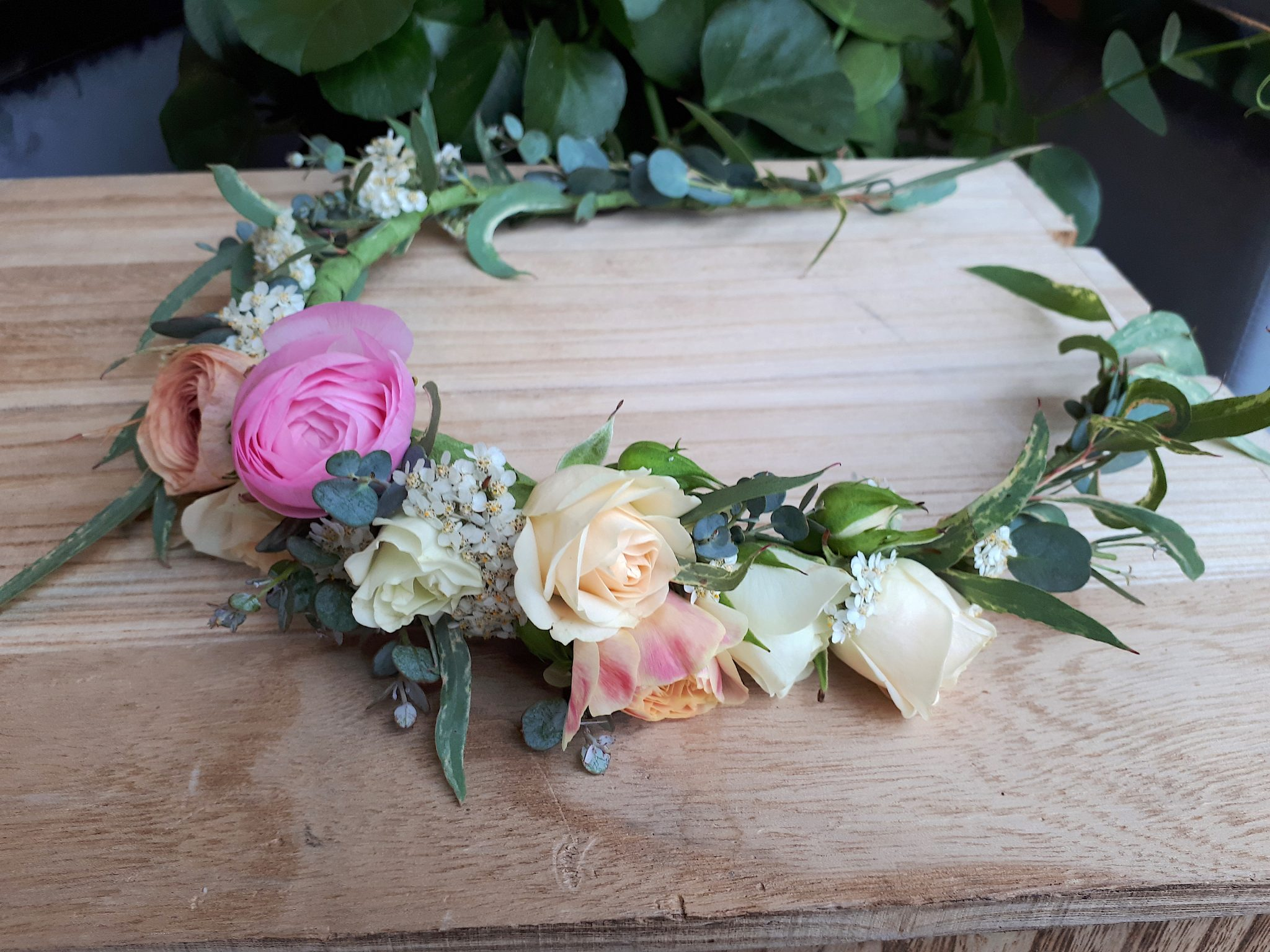 Order Flowers Online Flower Crown Passionate Blooms