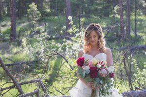 Flower Shop West Kelowna | Passionate Blooms Floral Design | Forest Bouquet Wedding