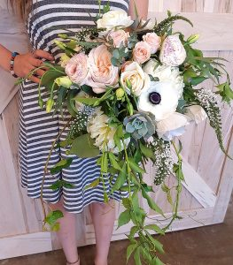 Flower Shop West Kelowna | Passionate Blooms Floral Design | Hand Tied Bouquet