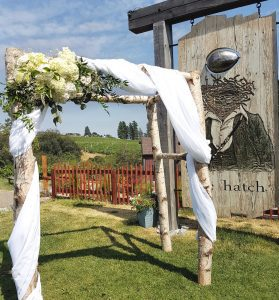 Flower Shop West Kelowna | Passionate Blooms Floral Design | Wedding Floral Arch
